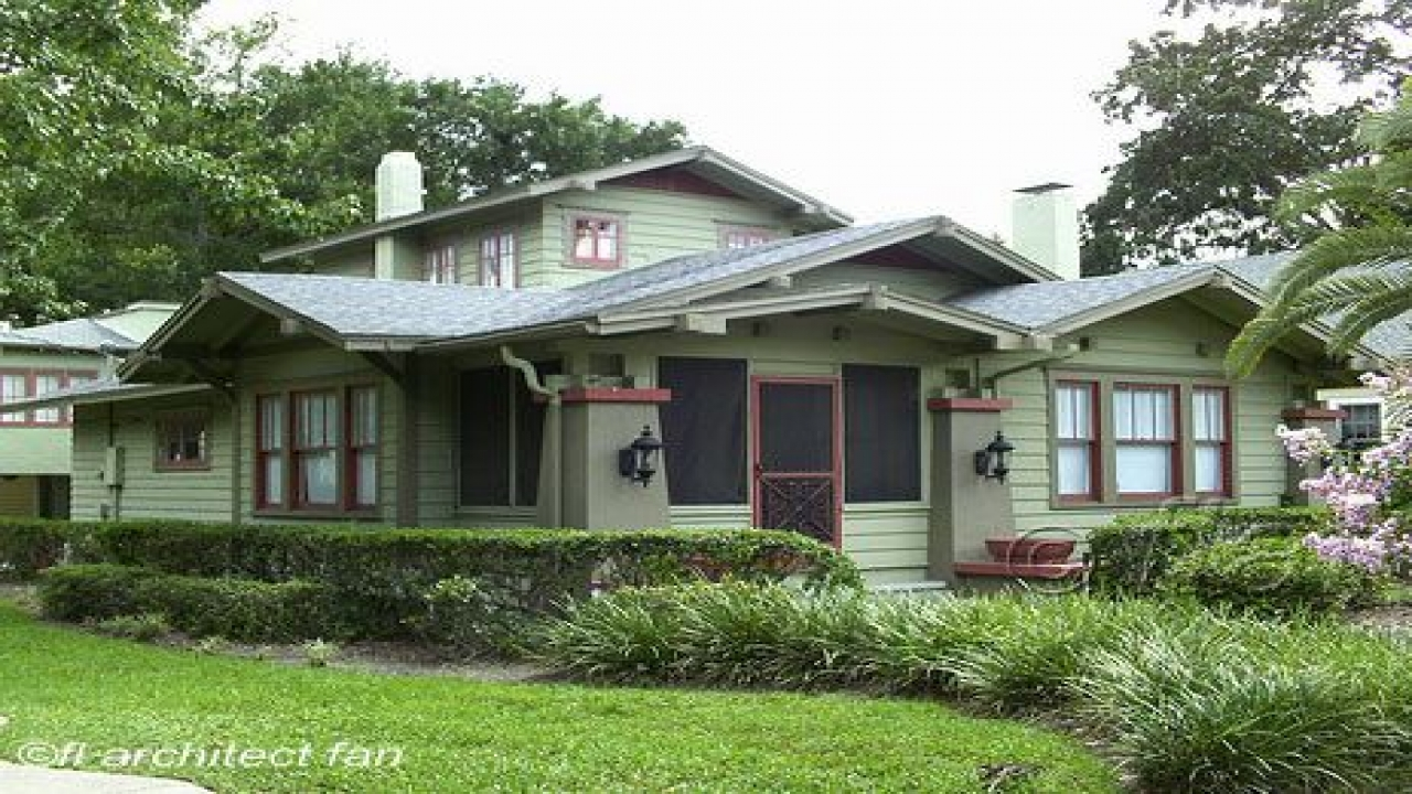 Craftsman bungalow style homes craftsman style homes for Craftsman style bungalow home plans