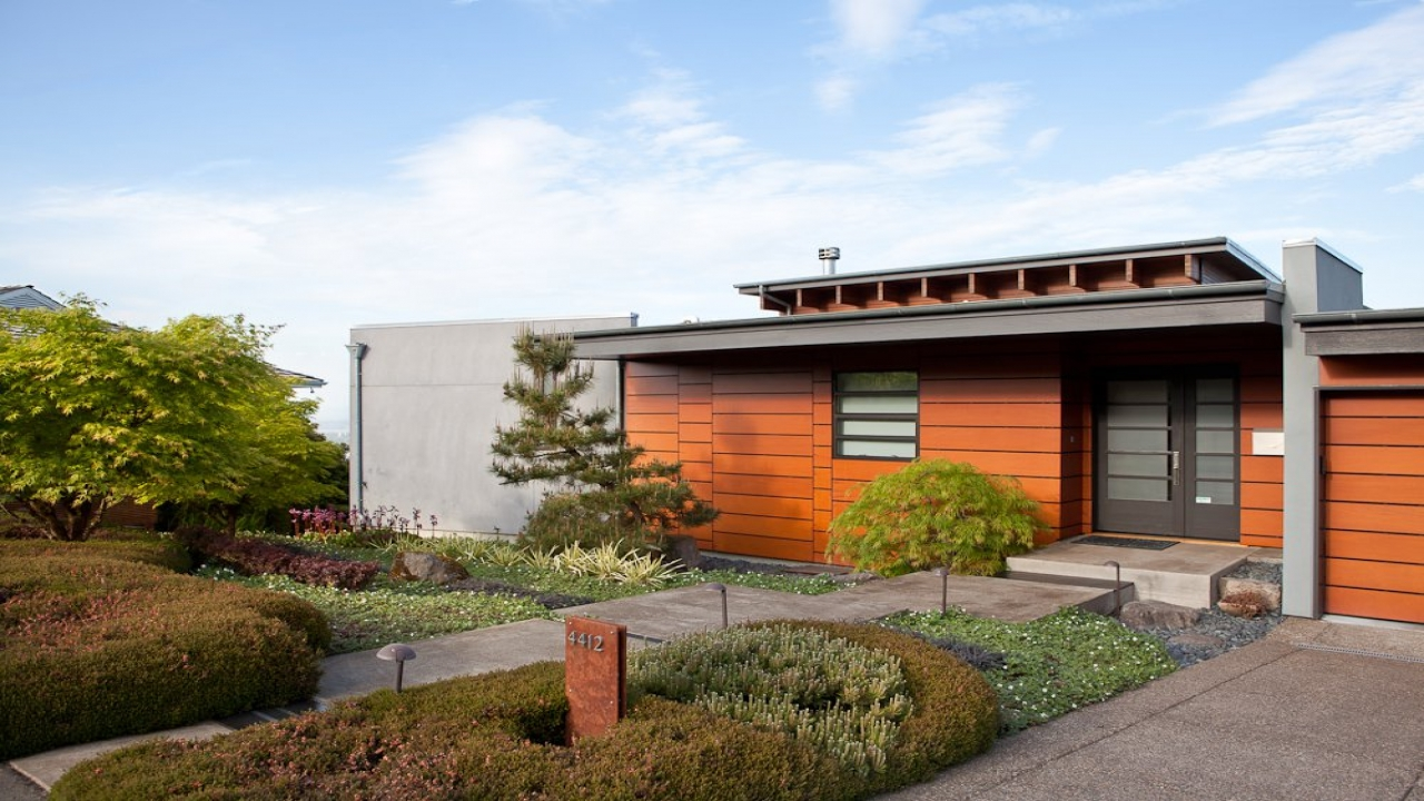 Pacific Northwest Contemporary Homes 1980s Contemporary
