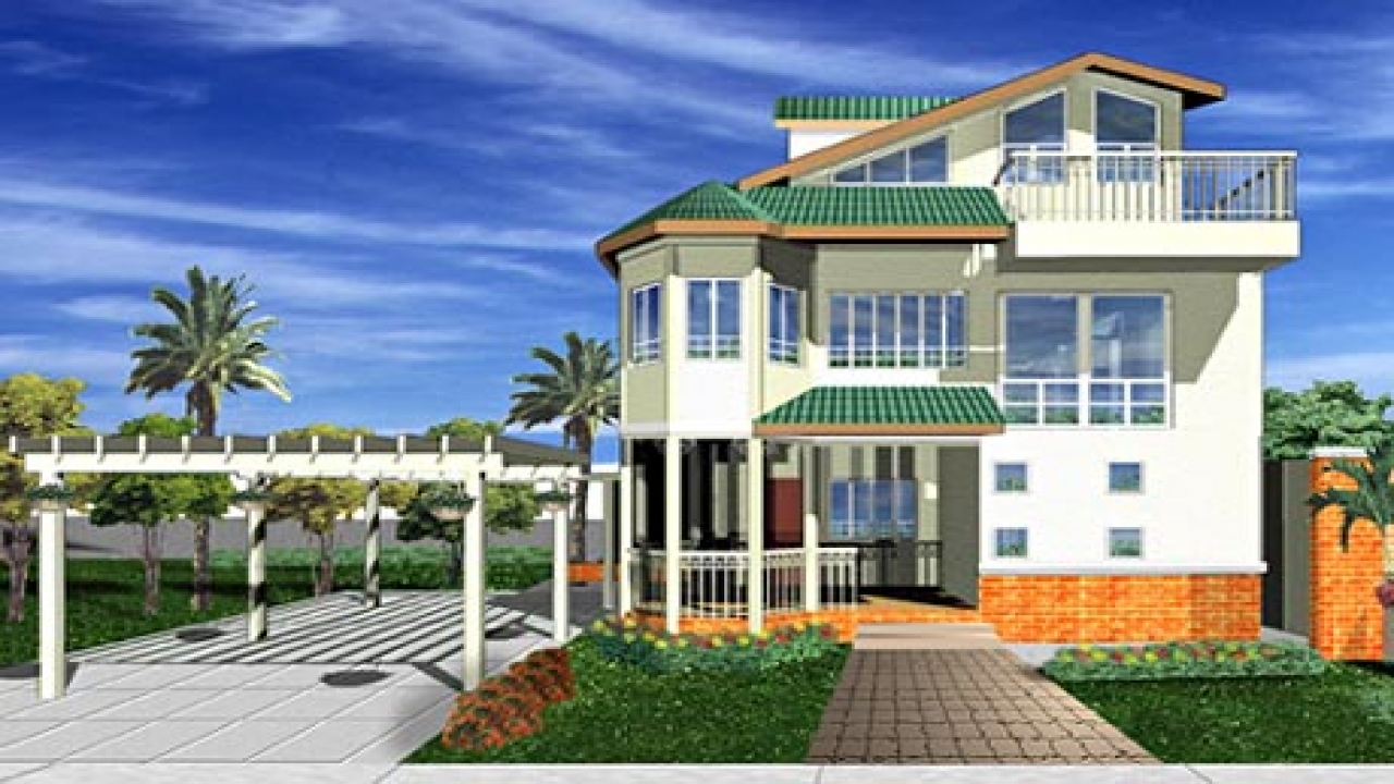 Modern beach house plans designs beach cottage house plans for Modern coastal house plans