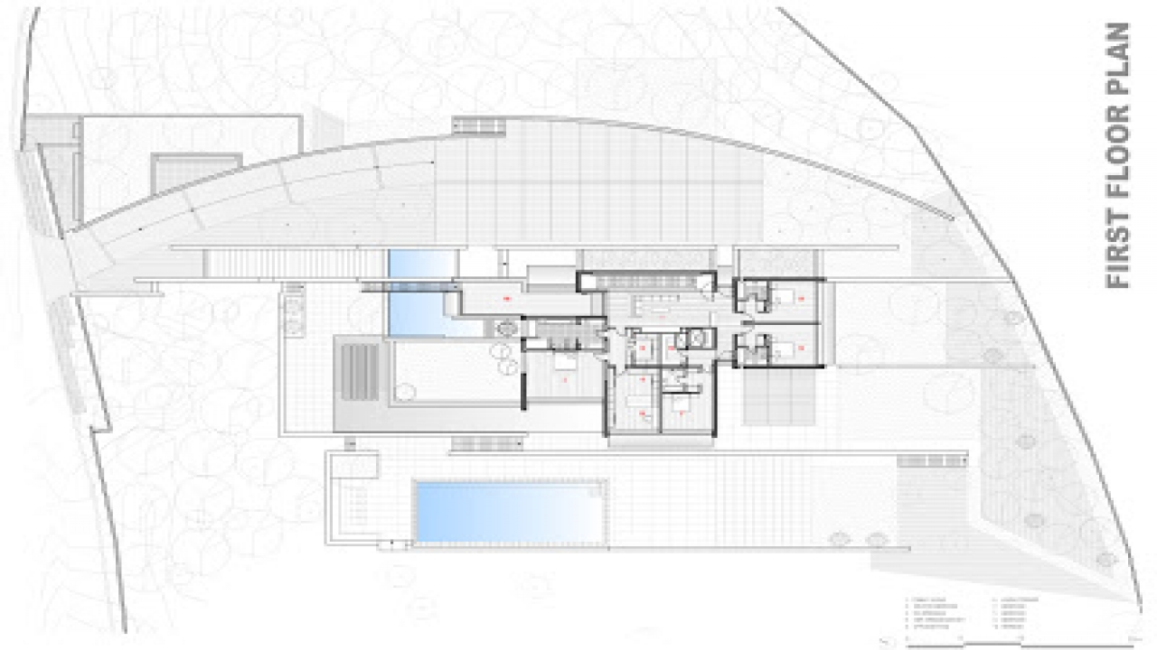 Modern Residential Architecture Floor Plans Plan