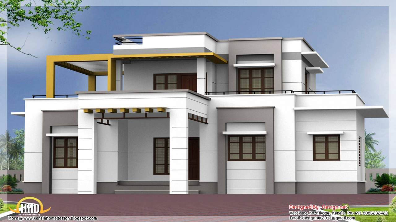 Flat Roof House Styles Flat Roof House Plans Designs