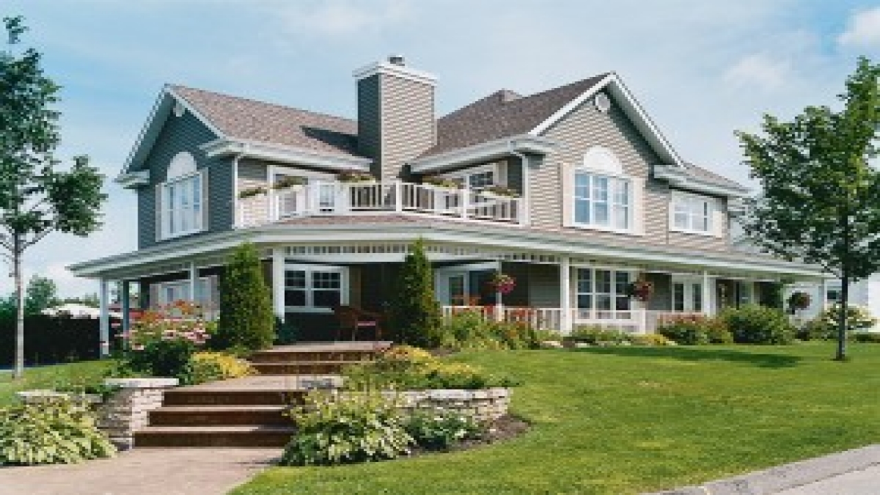 Country house plans with wrap around porches country house for Canadian country house plans