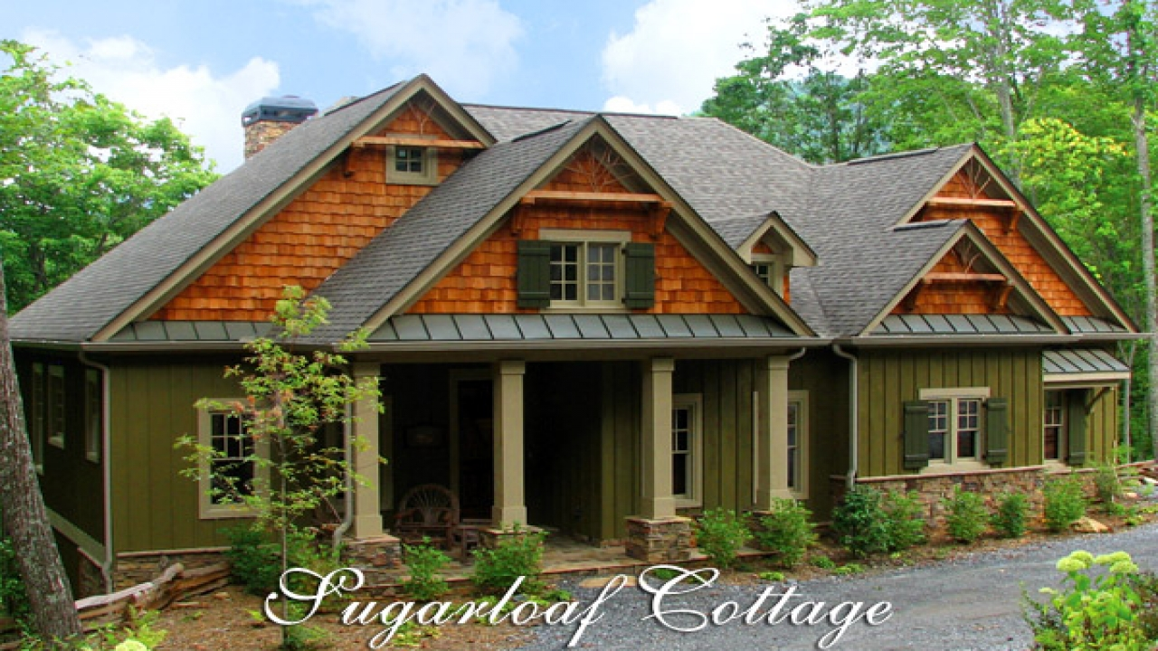 Mountain Cottage House Plans Mountain Lodge Style House