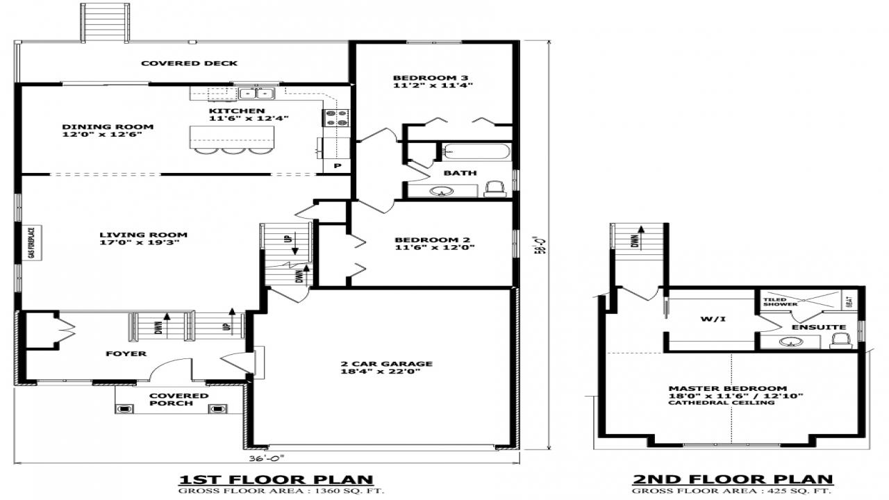 Contemporary house plans raised bungalow house plans for Canadian home designs floor plans