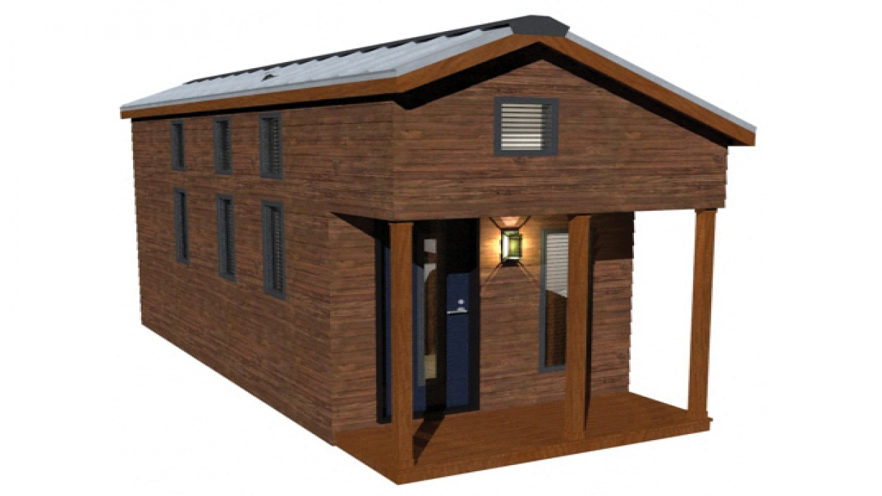 Tiny house plans with loft building tiny house floor plans for Small cabin plans with loft