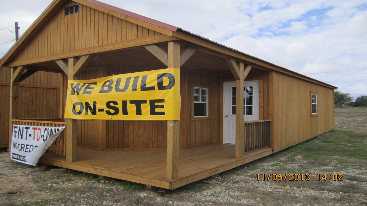 16x32 Portable Cabin Cabins Portable Building Kits Garage Cabins Treesranch Com
