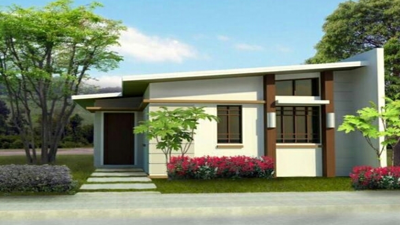 Small house exterior design small modern house exterior for Small home outside design