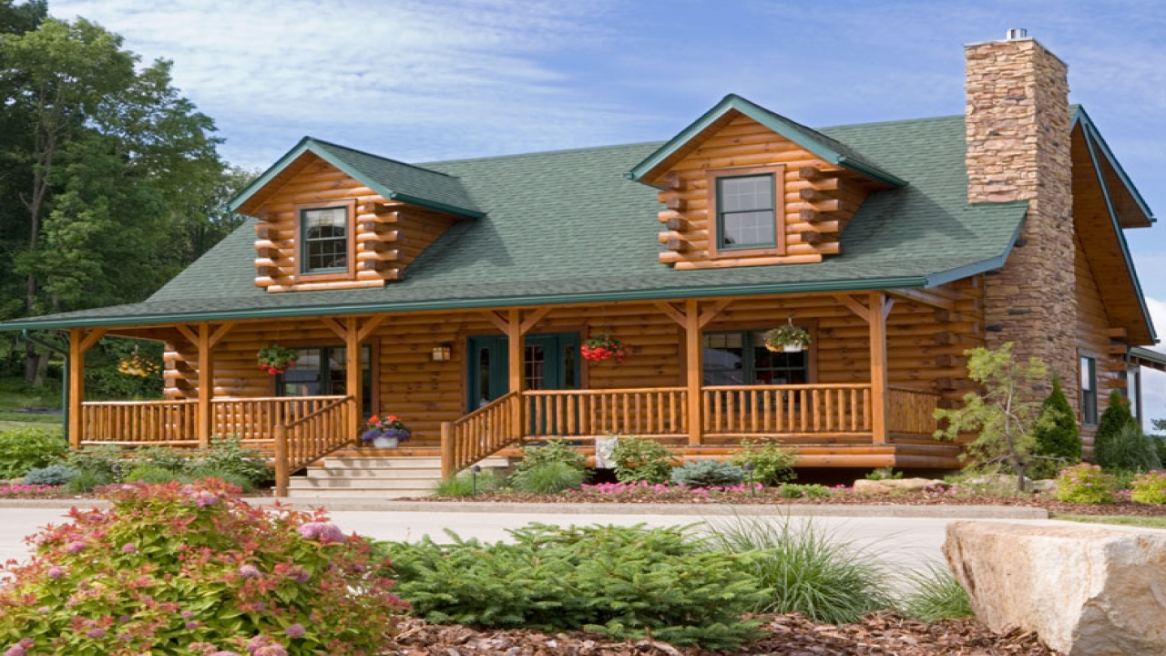 Log cabin home packages log cabin house plans log cabin for Home design packages