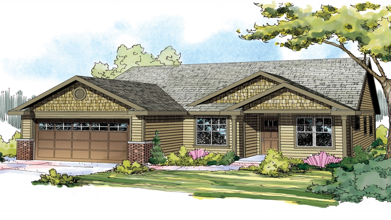 Modern craftsman house plans craftsman house plan small for Small craftsman home plans