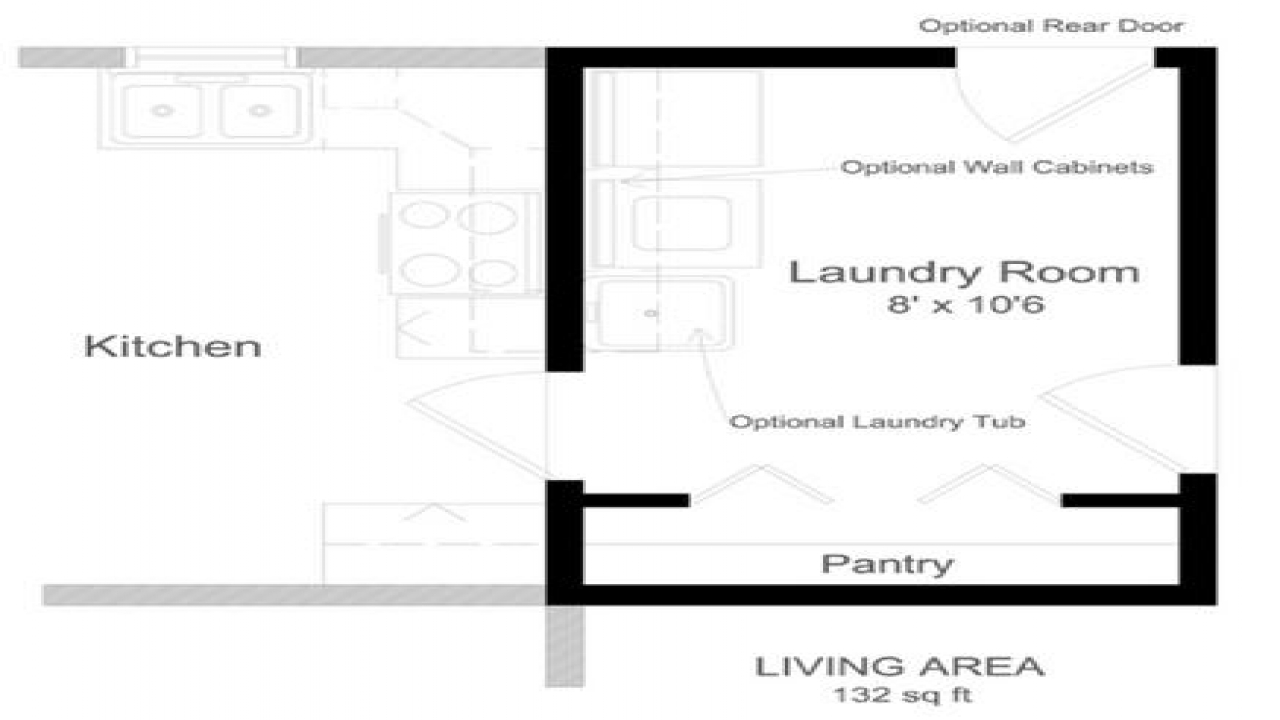 Laundry Room Floor Plans Small Laundry Room Design Custom