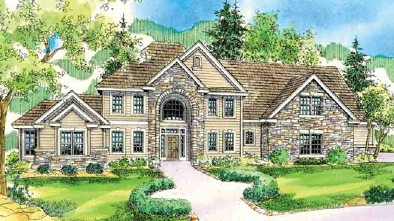 Mountain style house plans northwest style house plans for Mountain style home plans