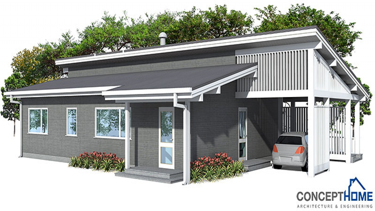 Affordable home modern small house plans affordable for Affordable contemporary home plans