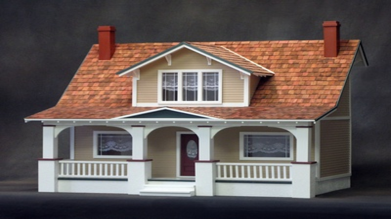 Classic Bungalow Dollhouse Kit Hobby Lobby Dollhouse Kits