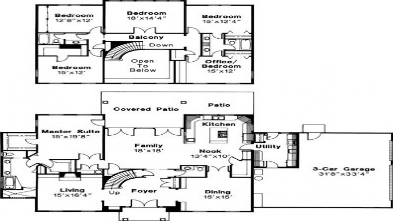 Colonial mansion floor plans floor plans for house plan for Huge mansion floor plans