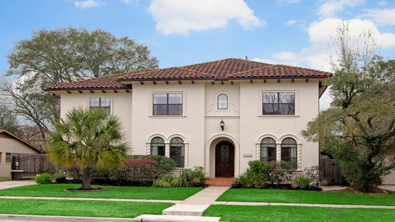 Spanish Style Exterior Paint For Home Spanish Style