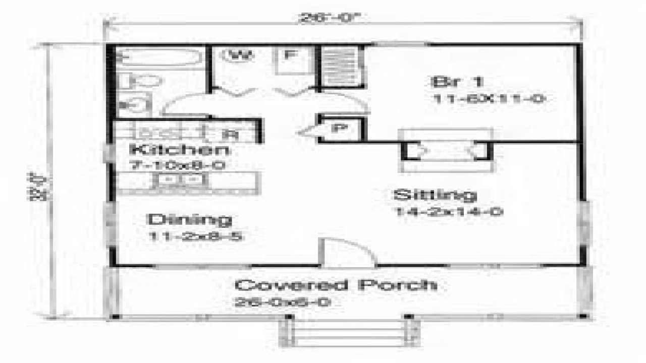Small house plans under 1000 sq ft small house plans under for Small rental house plans