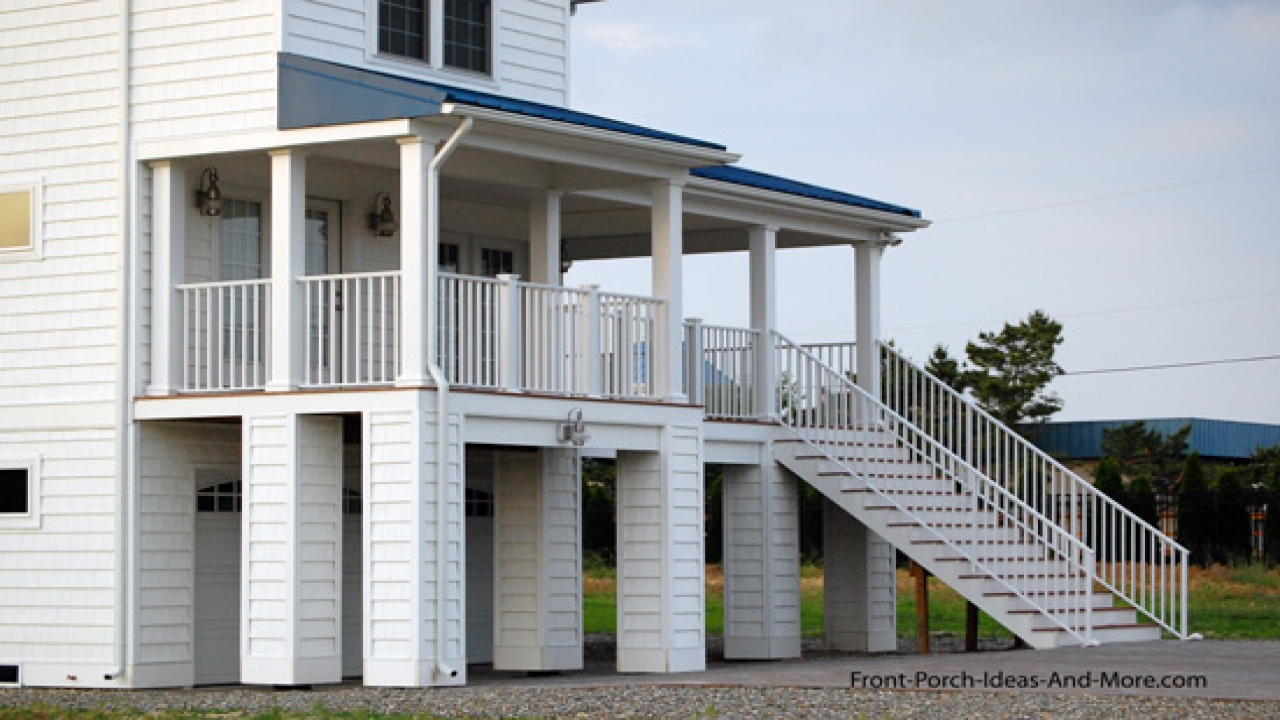 Elevated House Plans Waterfront on sloping lot house plans, tornado-proof house plans, pier pole house plans, house built on pilings plans, coastal home plans, elevated cabin plans, stilt house plans, winds cottage house plans,