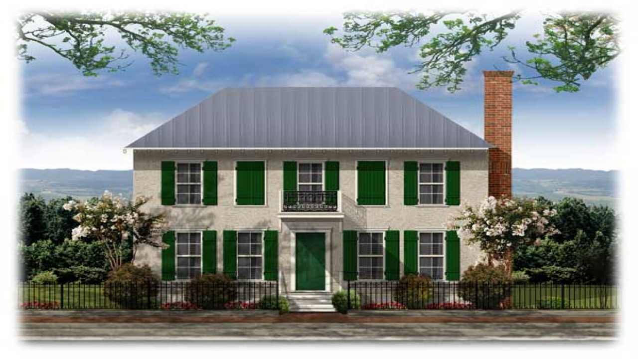 American Colonial Architecture French Colonial House Plans