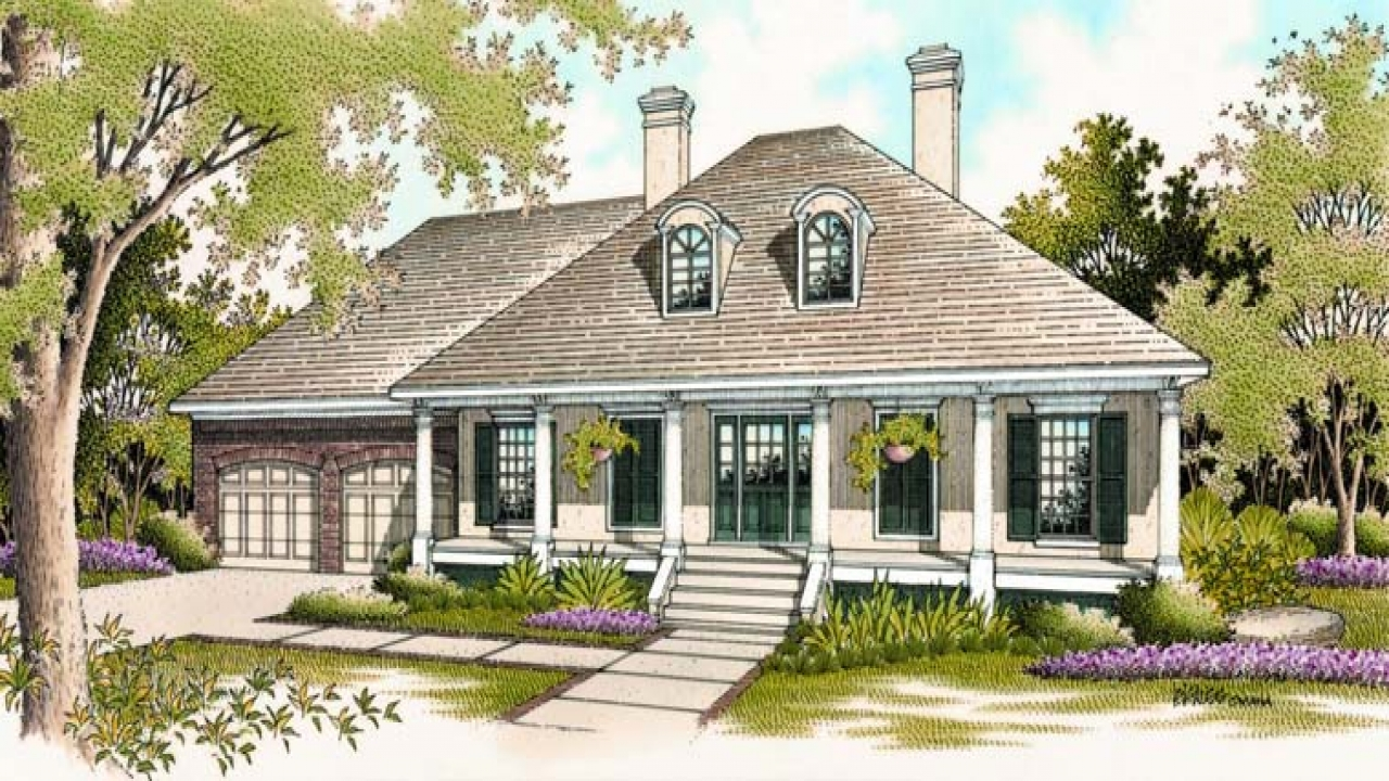 Classic southern house plans old home plans and designs for Savannah style house plans