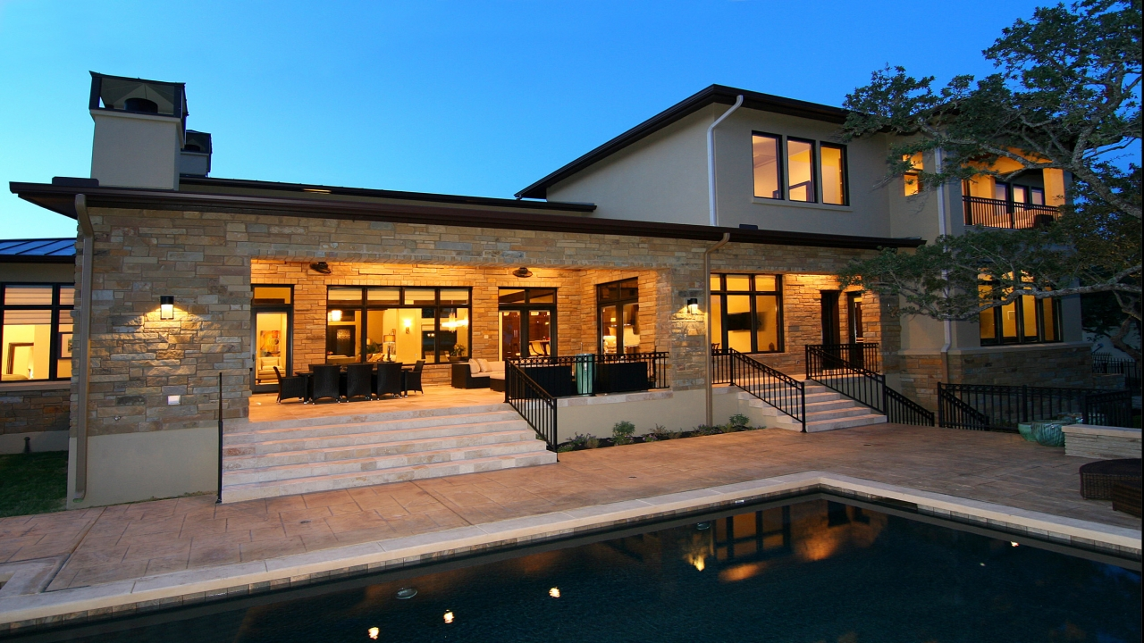 Texas hill country homes hill country homes exterior for Texas hill country architecture