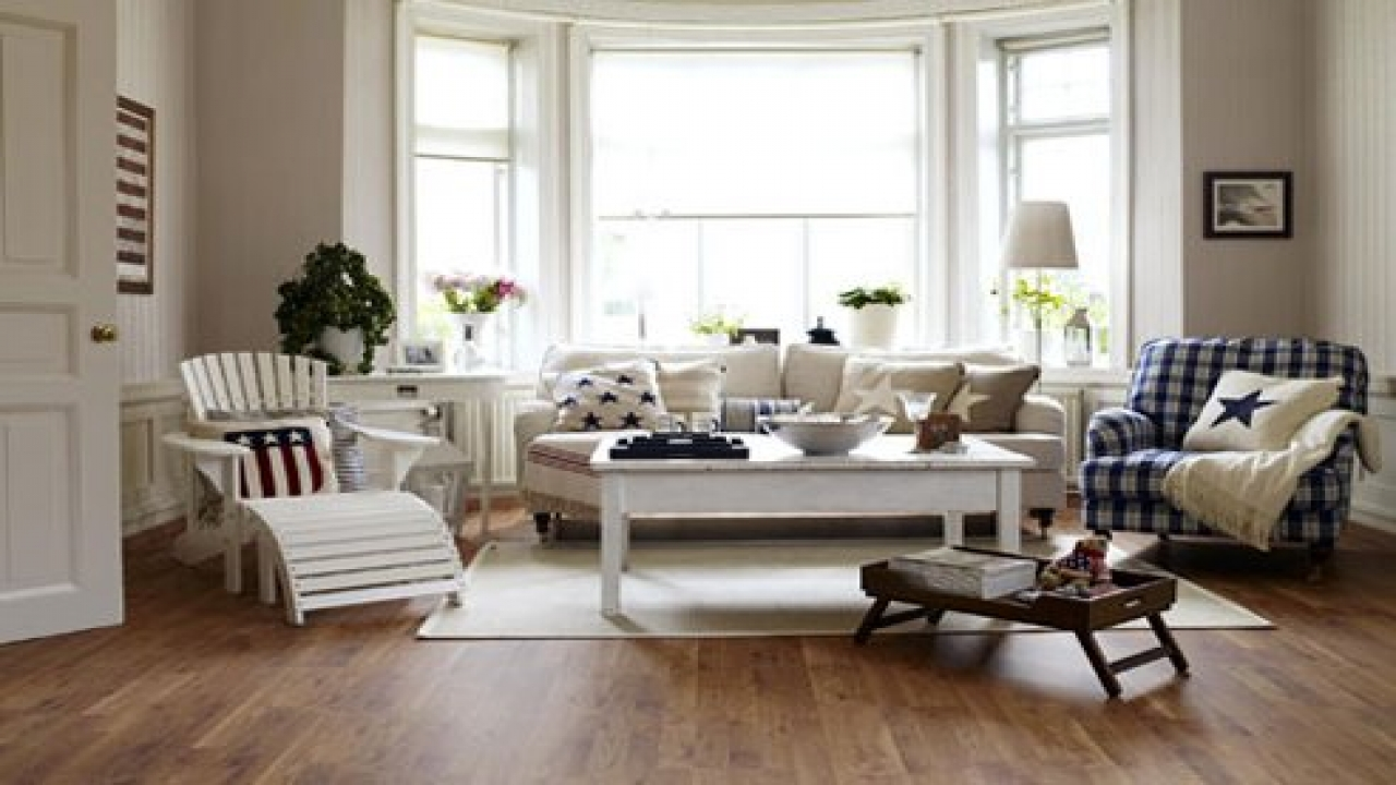 New England Style Living Room Design Northern New England