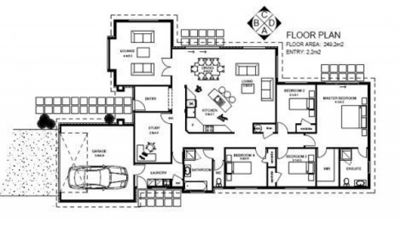 5 bedroom house plans simple 5 bedroom house plans 7 for 5 bedroom ranch house plans
