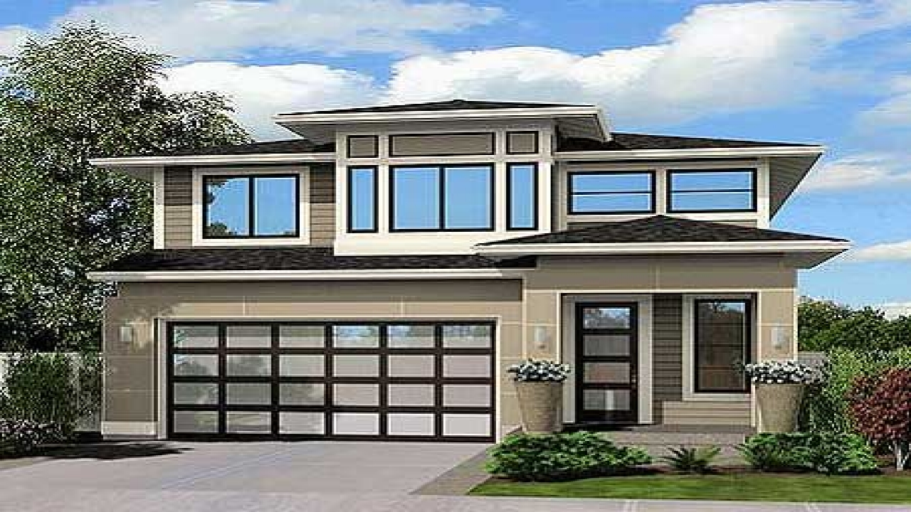 Modern narrow lot house plans contemporary narrow house for Modern home plans for narrow lots