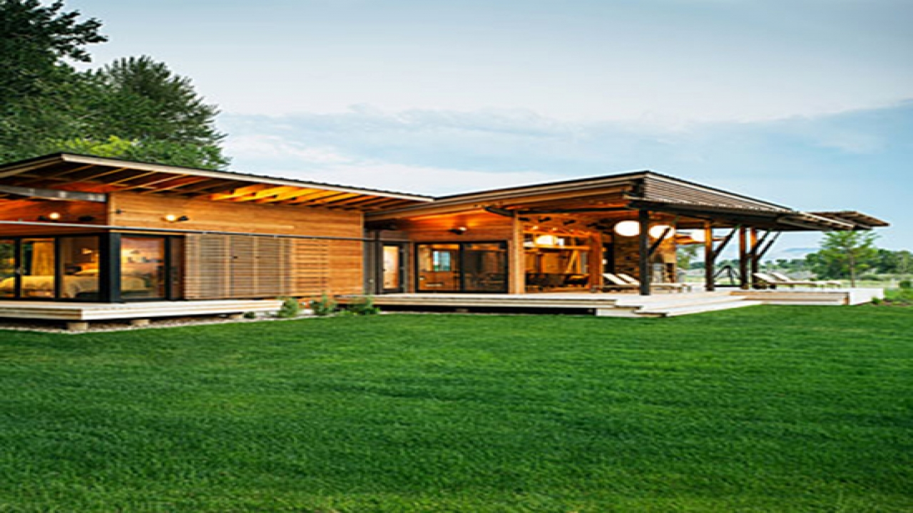 Modern ranch style house designs modern california ranch for Ranch style cabin plans