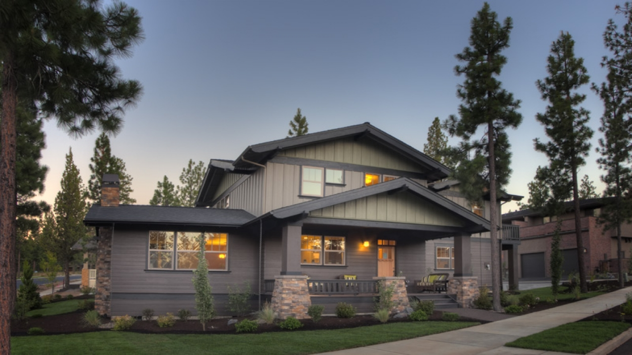 Mountain Craftsman Style Homes Northwest