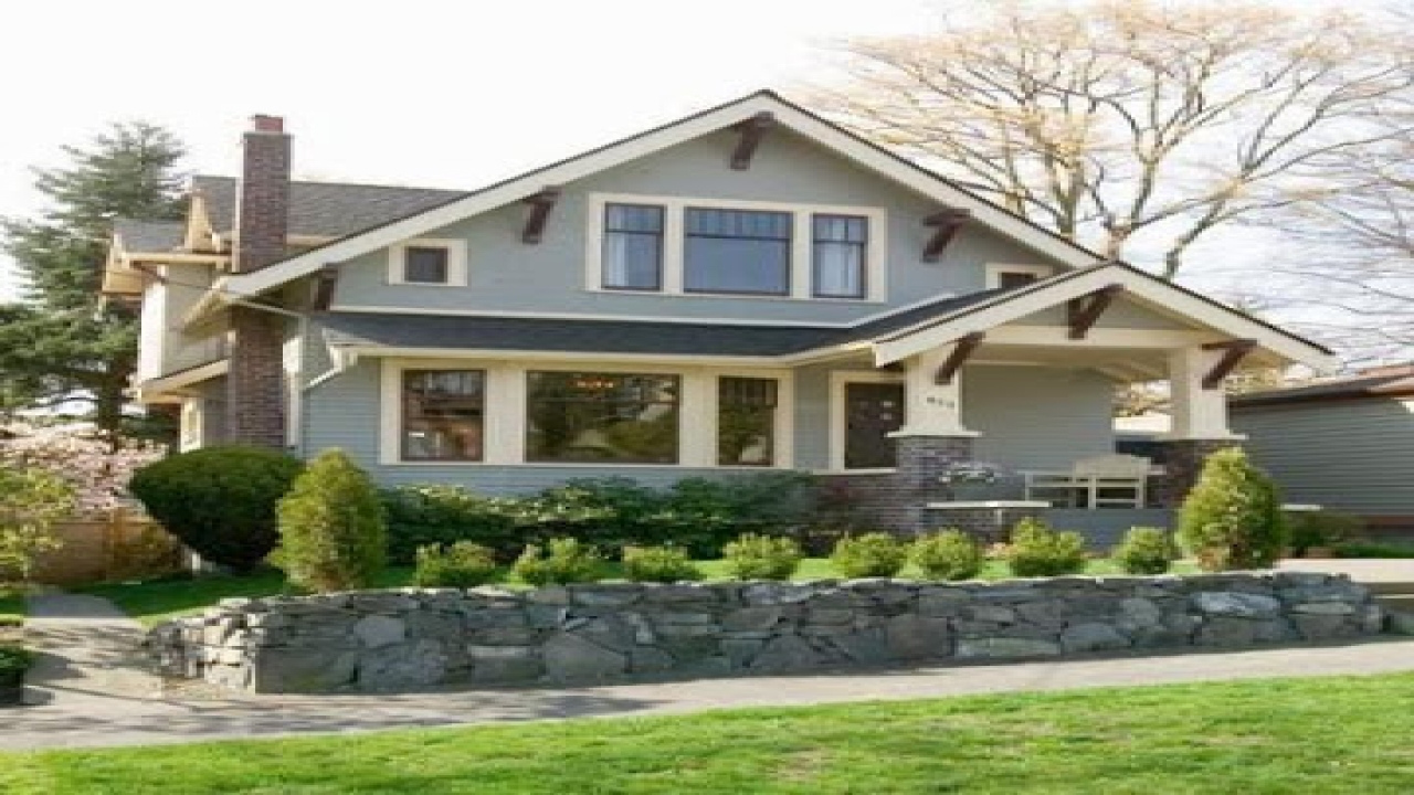 Old style bungalow home plans craftsman bungalow style - What is a bungalow house ...