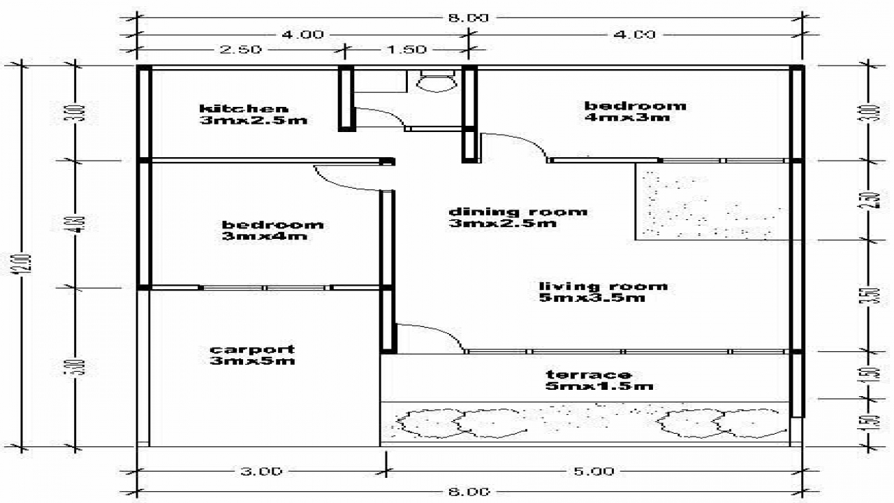 Simple Small House Floor Plans Philippines Simple Small ...