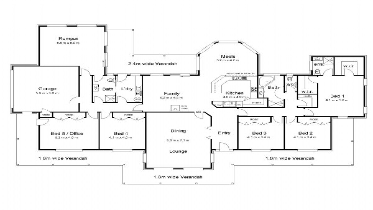 Small colonial house plans australian colonial house plans for Small colonial house plans
