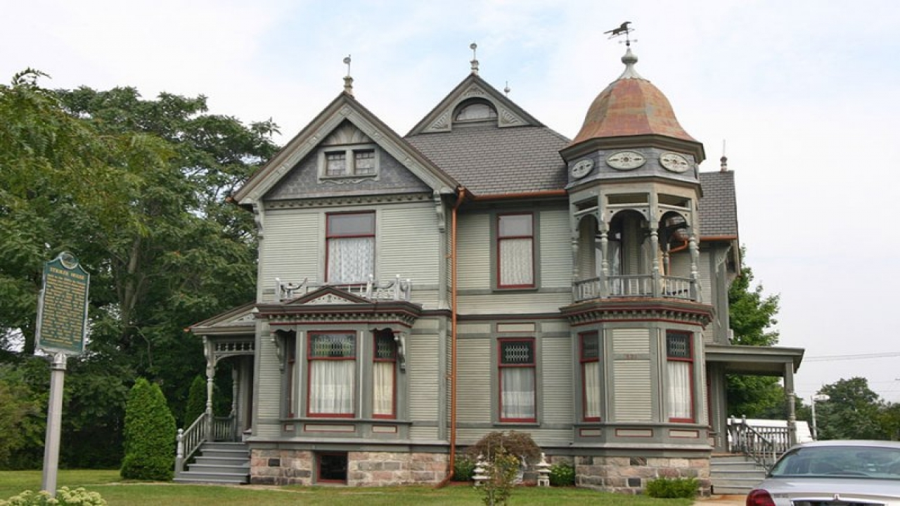 Portland victorian houses victorian tree house new old for New victorian homes