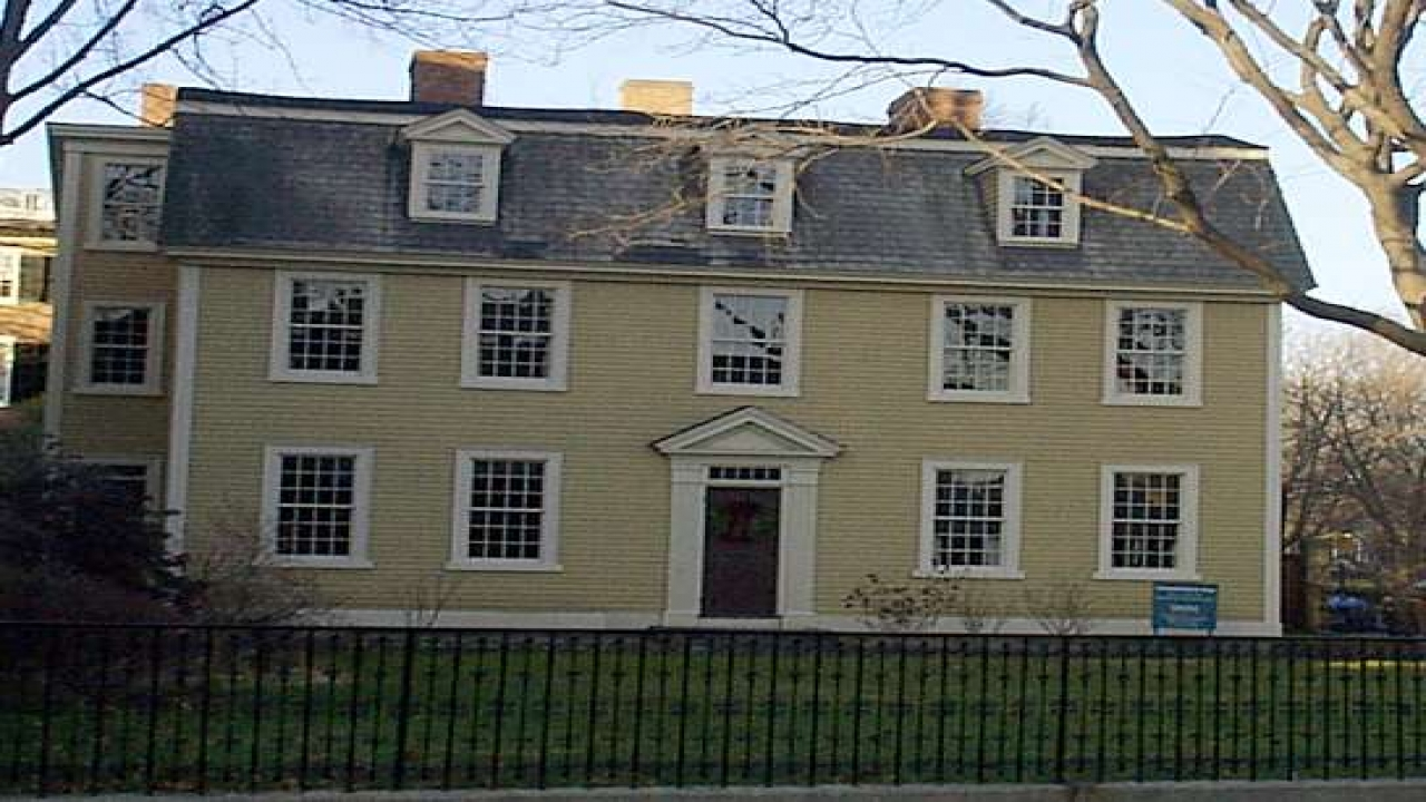 New England Colonial Architecture Houses Colonial Houses
