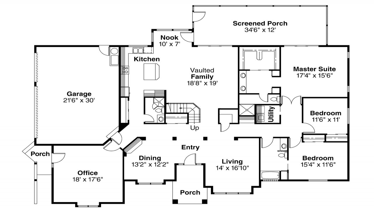 Spanish style floor plans spanish style house spanish for Spanish style home floor plans