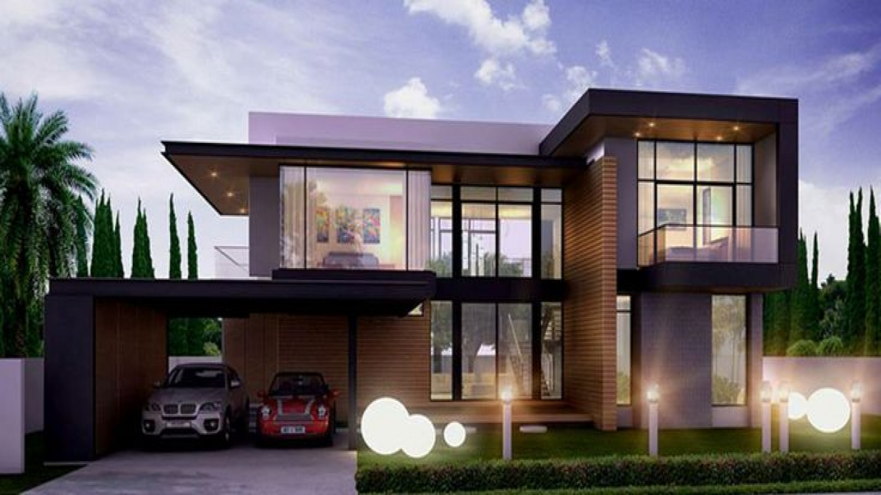 Modern residential house design architecture modern house designs modern residential house for Residential house design plans