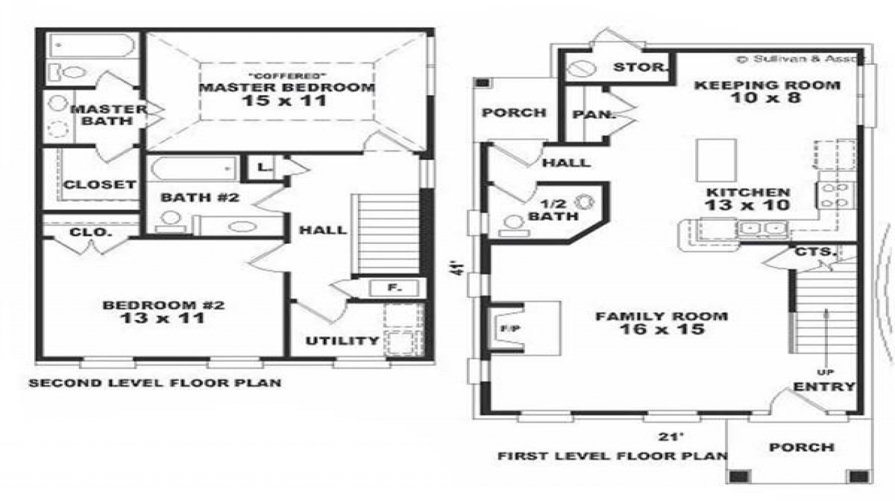Saltbox House Plans With Porches