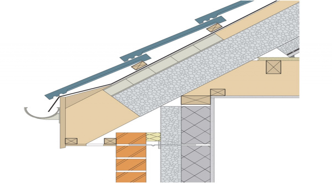 Typical Roof Eave Details Typical Roof Overhang Designs