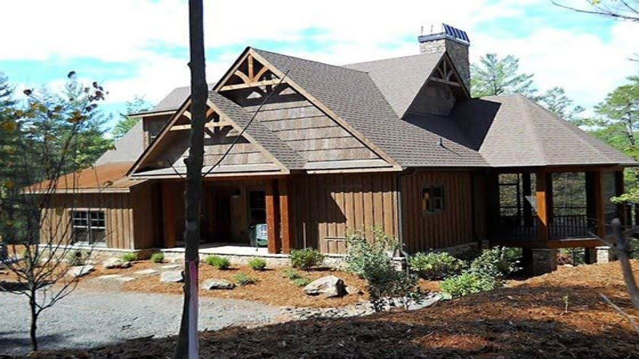 Small rustic mountain home plans rustic mountain home for Rustic mountain homes