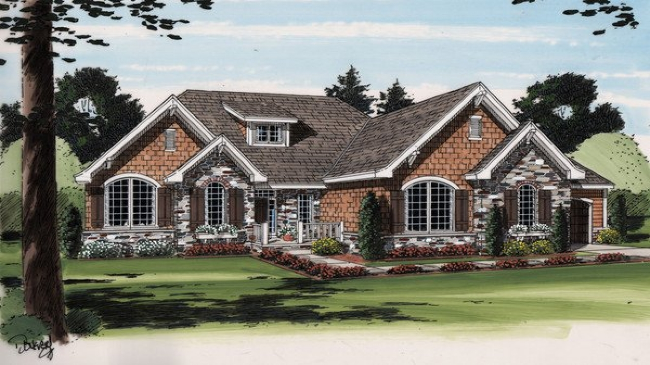 Cottage style ranch house plans french country ranch house for French country ranch home plans
