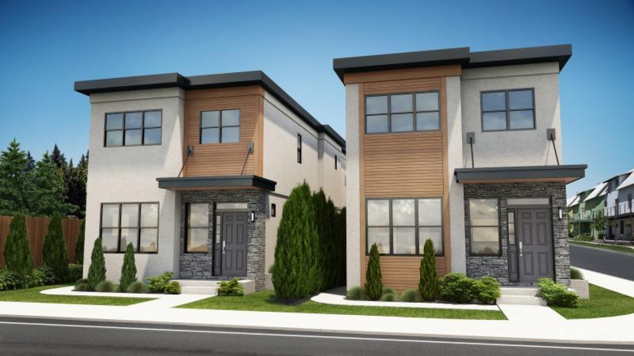 Modern Contemporary Narrow Lot House Plans Cool House ...