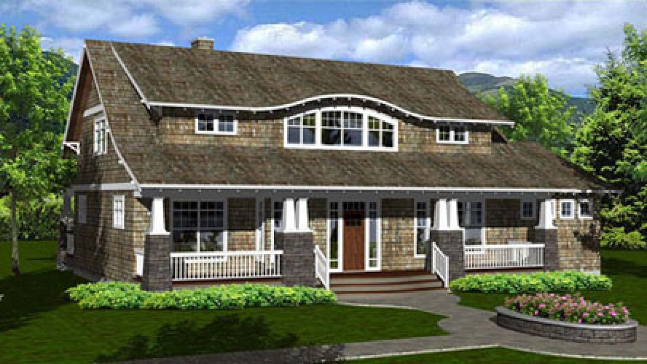 List of arts crafts style architects house plans arts for Craftsman style architects