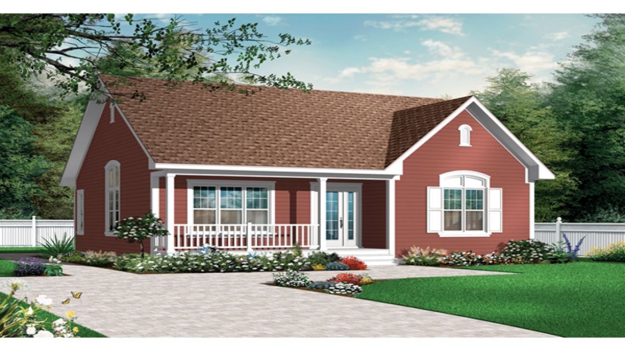 Ranch bungalow house plans one story bungalow house plans for Rancher house plans canada