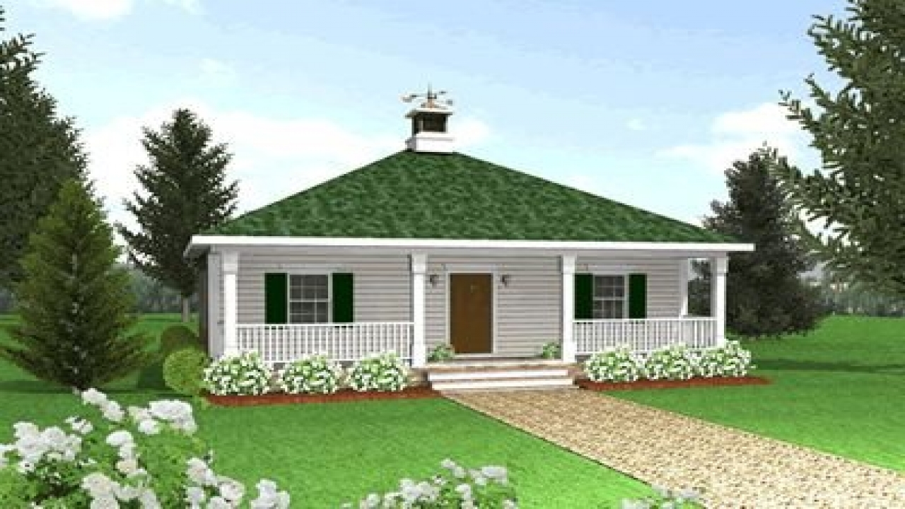 Country cottage house plans with porches tiny romantic Tiny house plans with porches