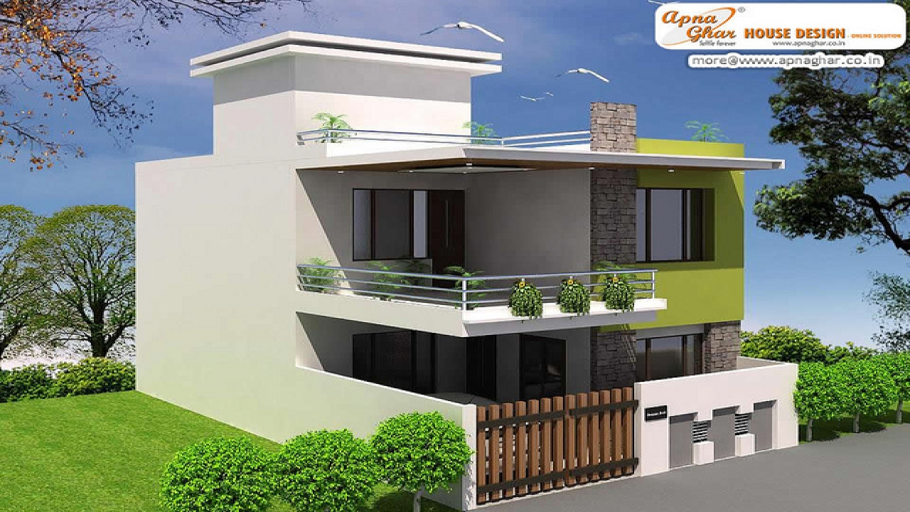 House Plan Small Home Design: Simple Duplex House Design Small Duplex House Plans