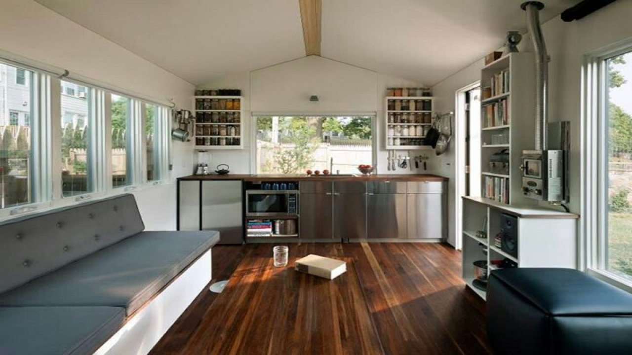 Interior Tiny House Swoon Modern Houses Treesranch