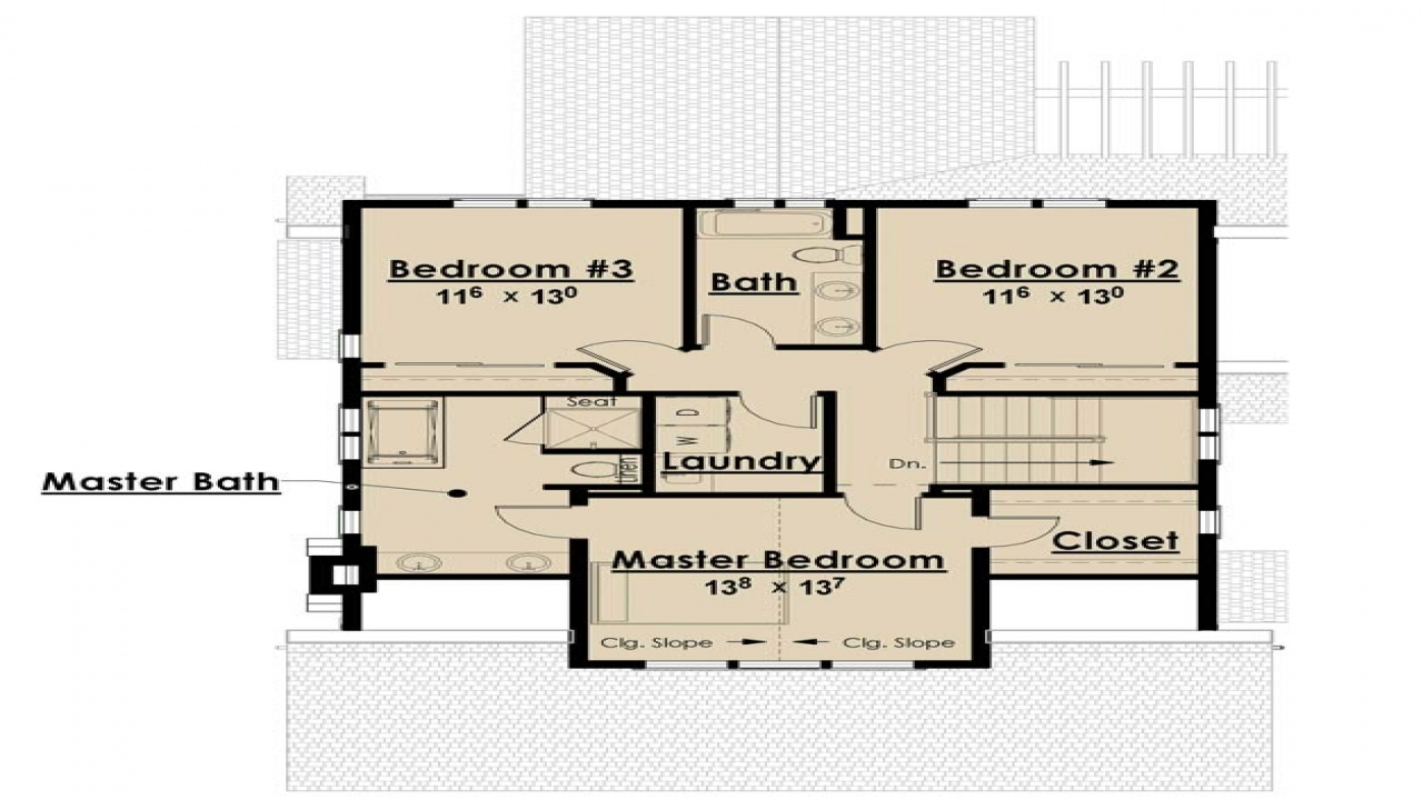 Single Story Open Floor Plans Bungalow Floor Plans Without