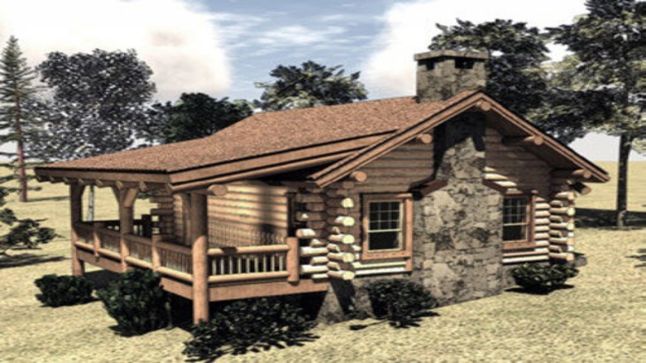 Small log cabin homes interior small log cabin homes plans for Affordable log home plans