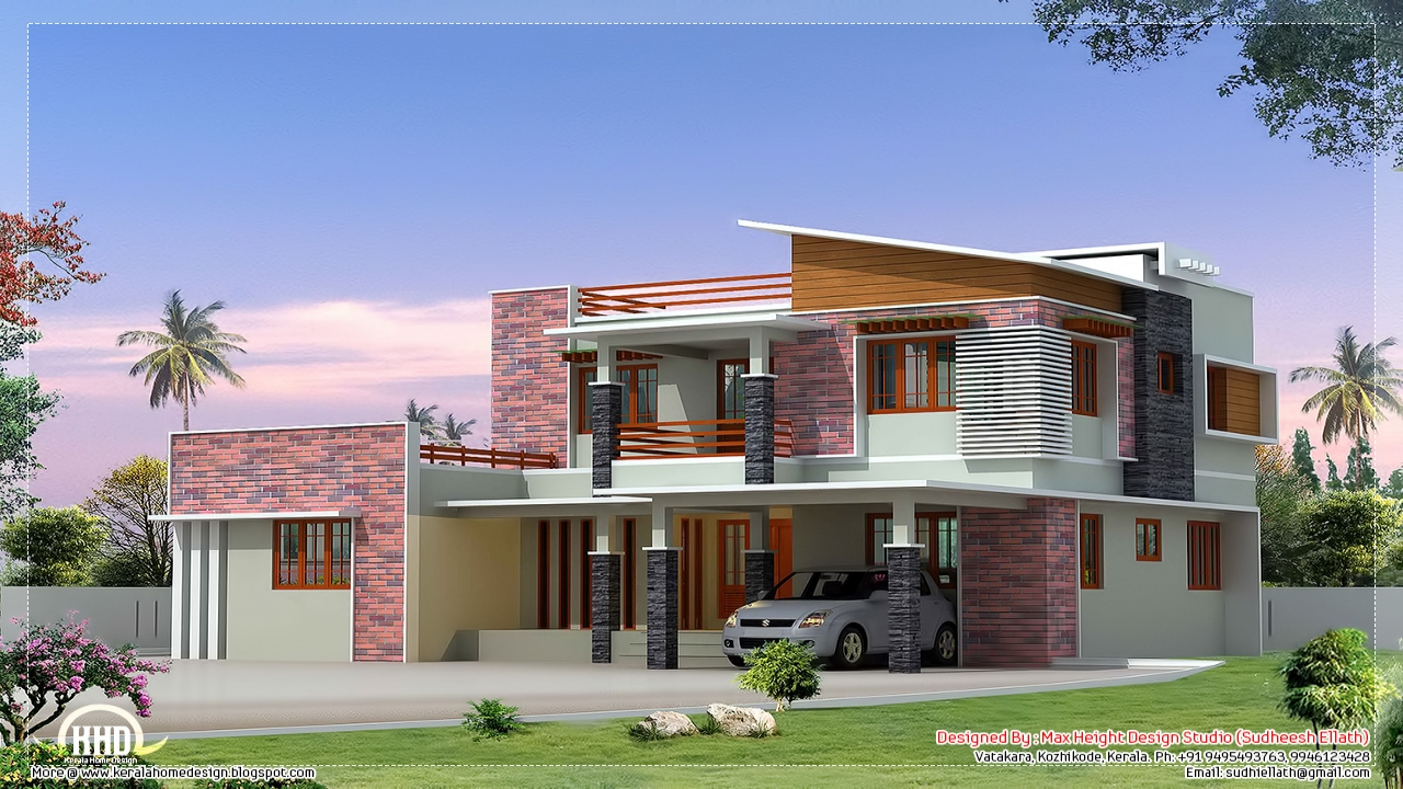 Indian Modern House Designs Modern Mediterranean House
