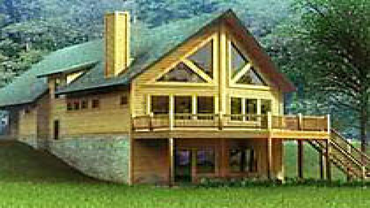 Chalet Style Log Home Plans Chalet Style House Kits